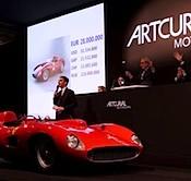 Artcurial MotorCars des records- 32 millions d'euros pour la Ferrari 335 Sport Scaglietti